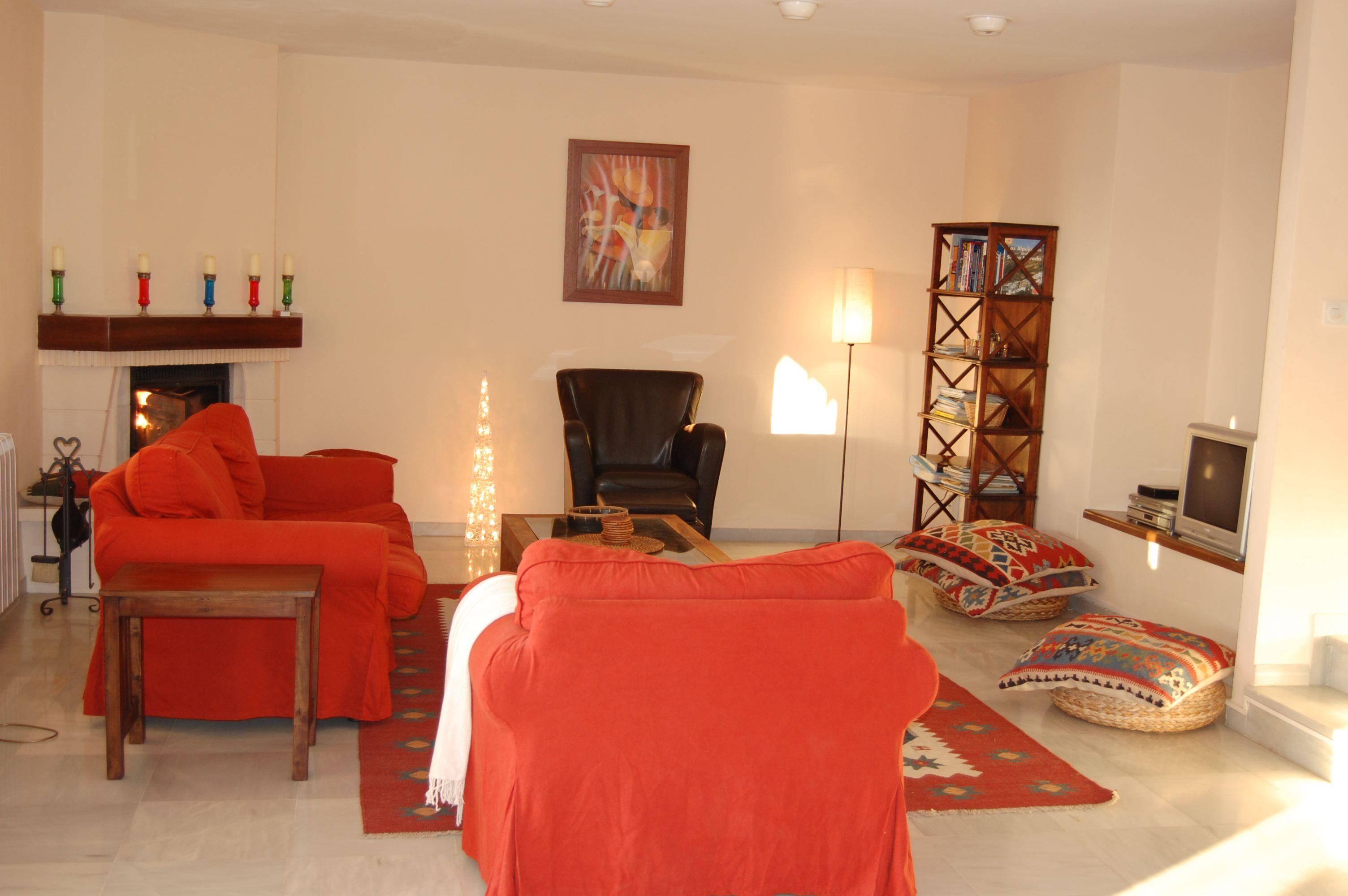 living room salon villa estrella del mar